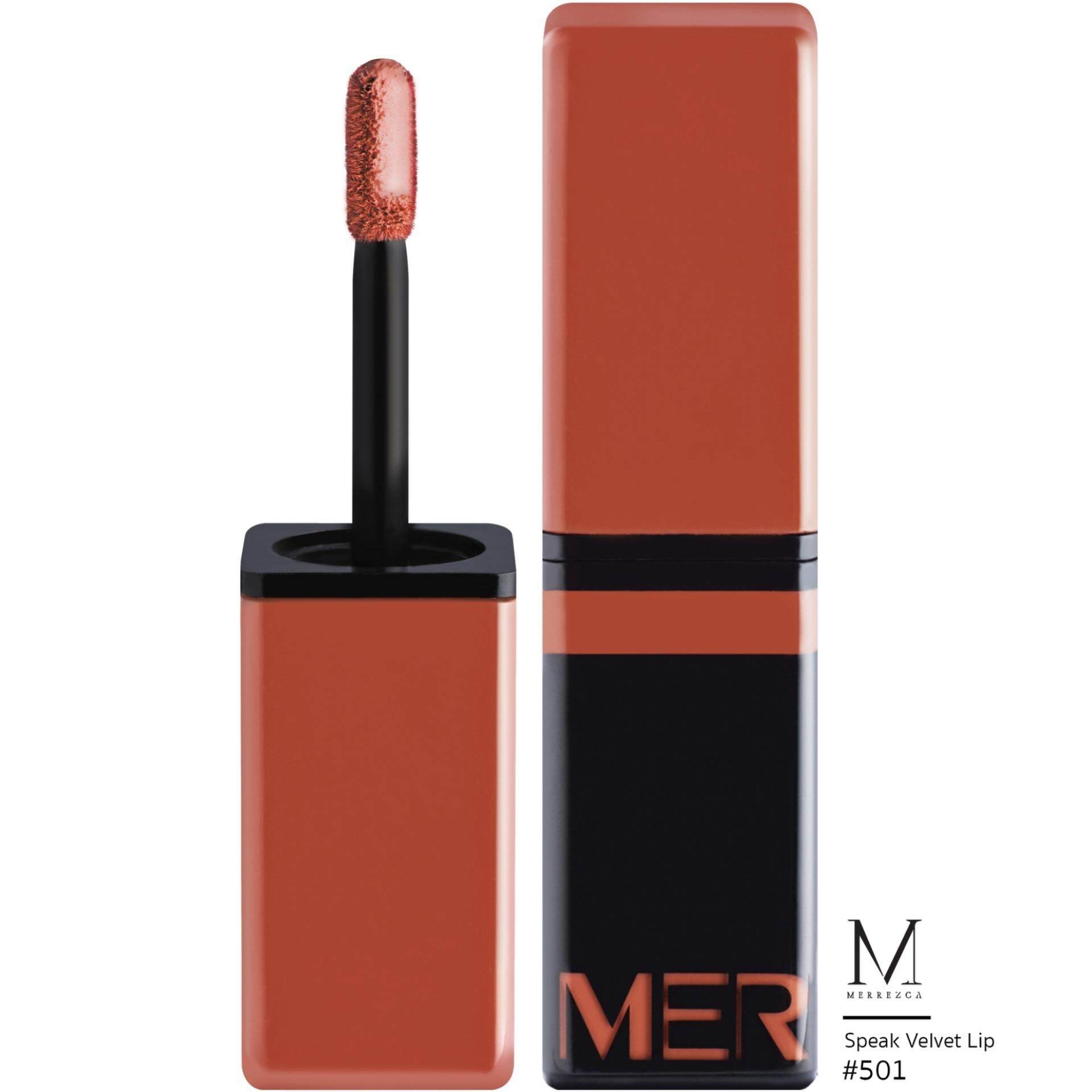 Merrez'ca Speak Velvet lip #501Poppy Flower