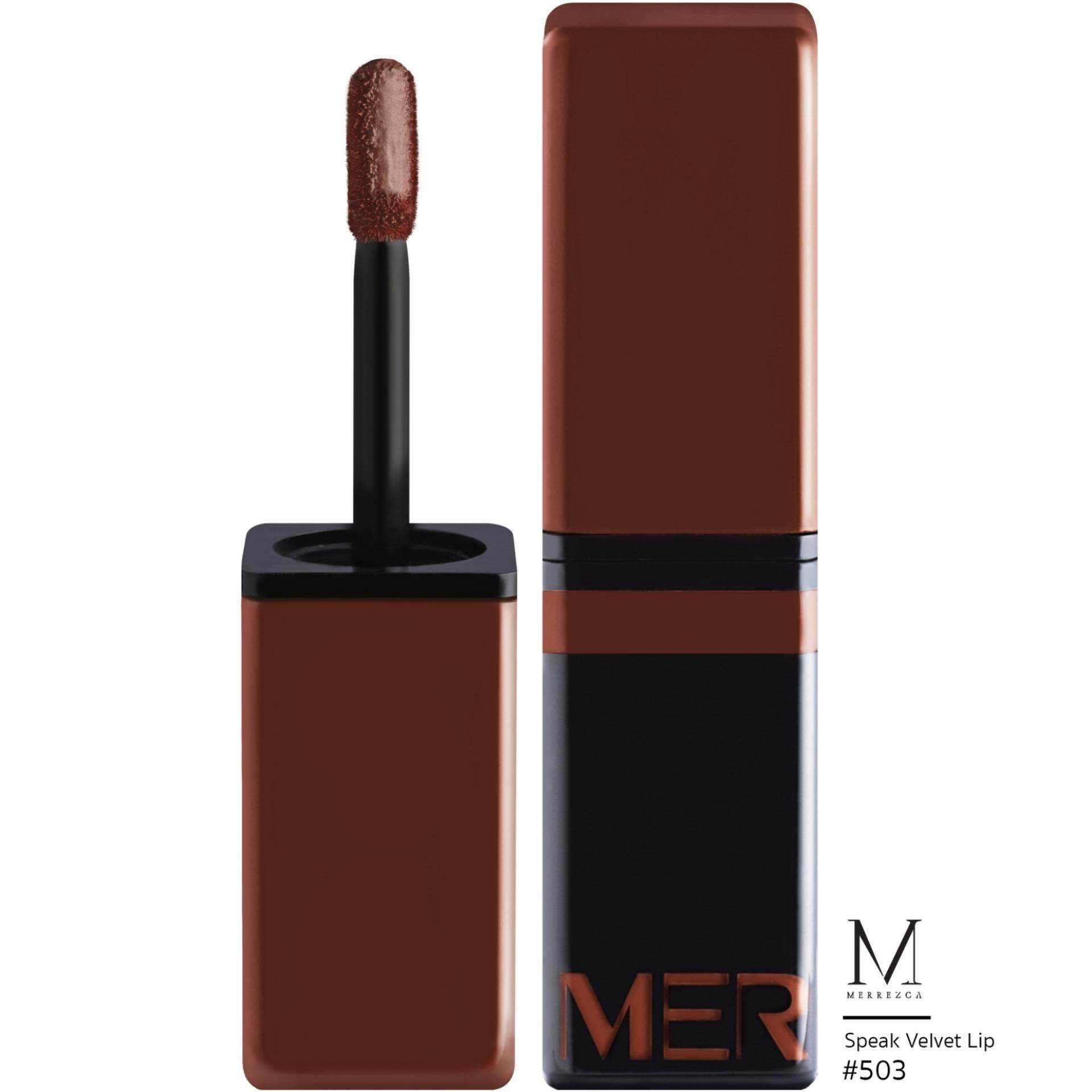 Merrez'ca Speak Velvet lip #503Rust