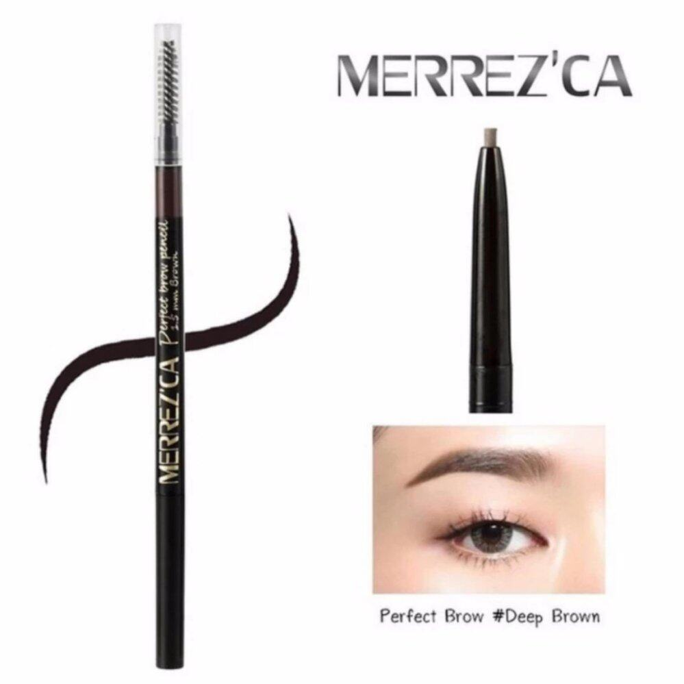 Merrezca Perfect brow Pencil #Deep Brown