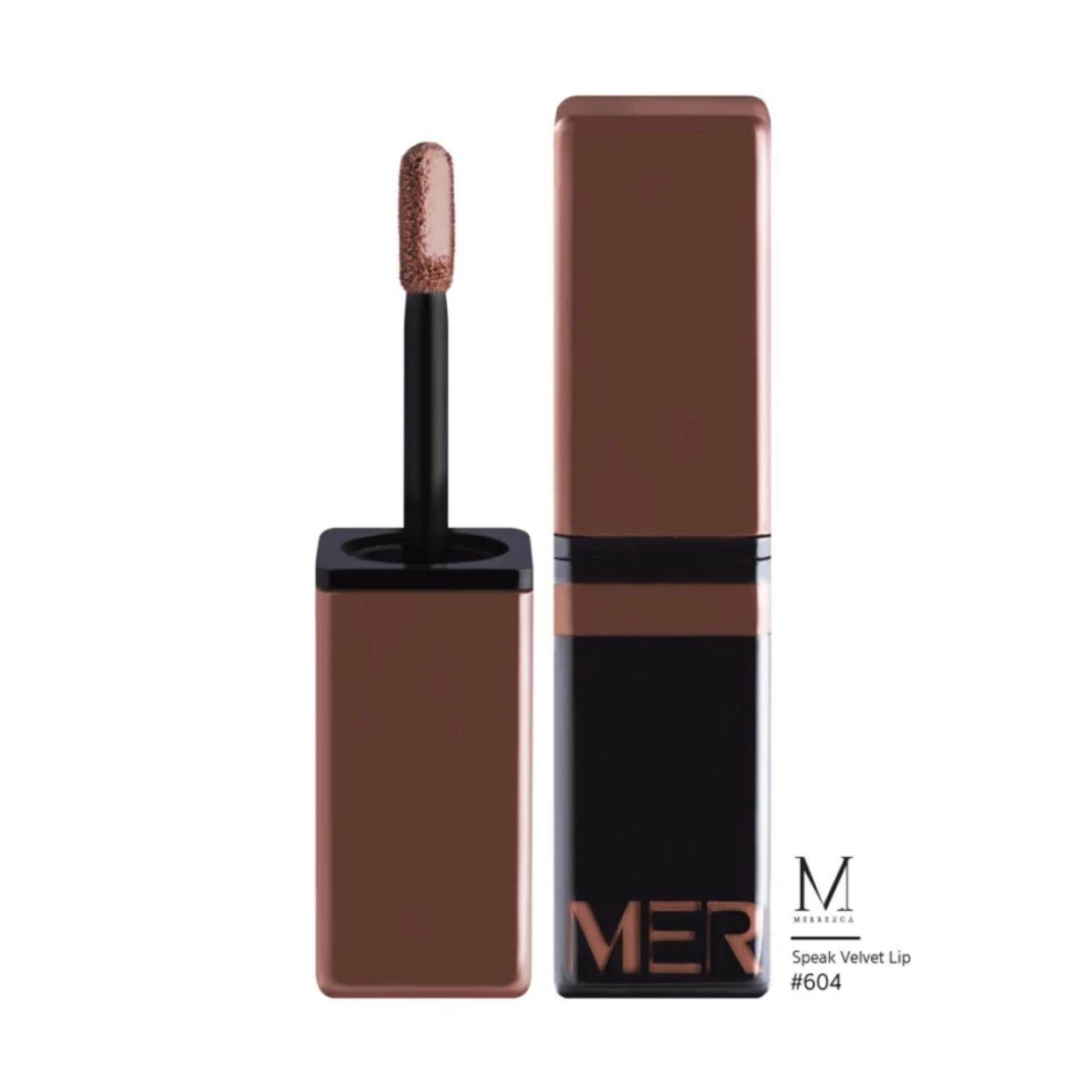 Merrez'ca Speak Velvet Lip #604 Sandy Brown