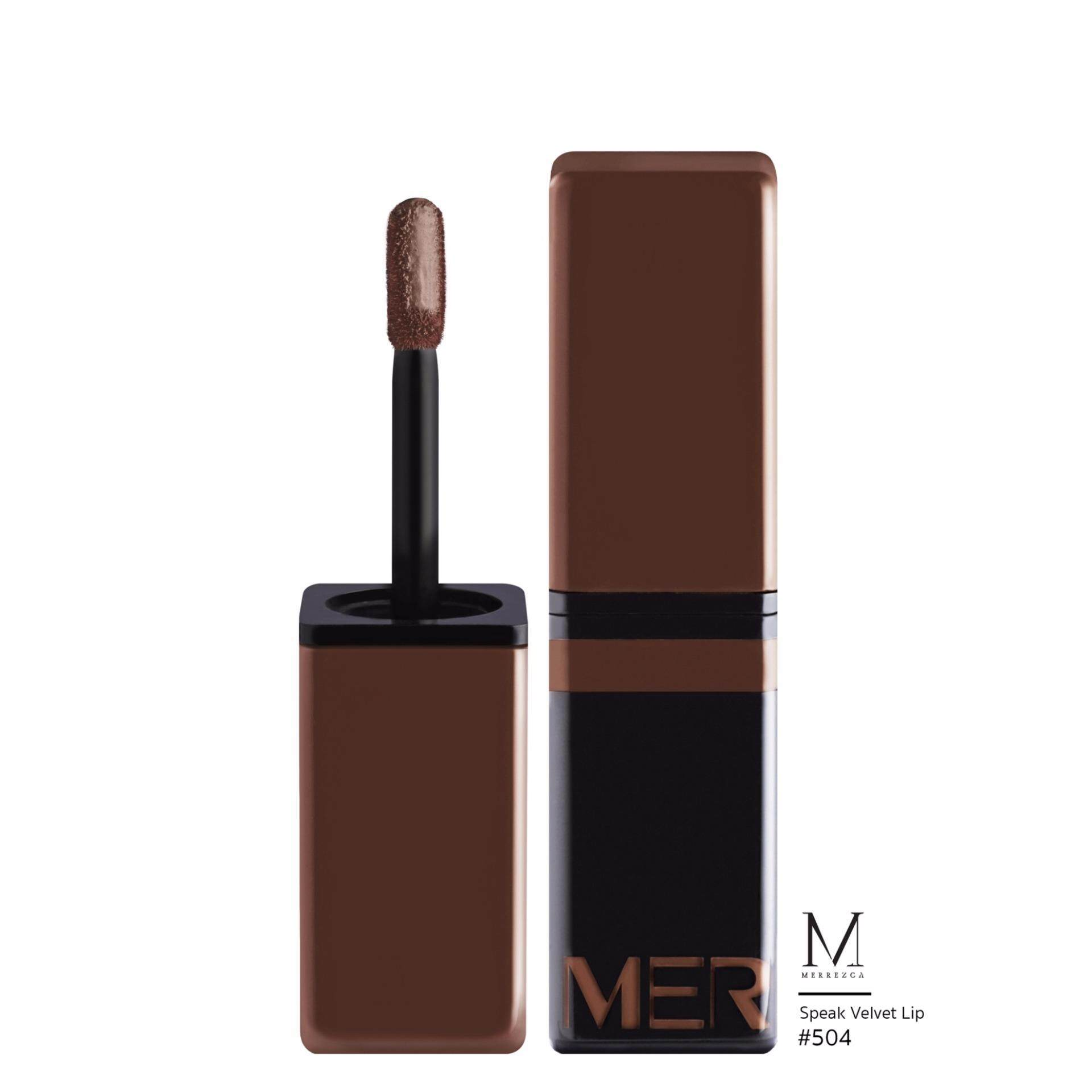 Merrez'ca speak velvet lip # 503 RUST