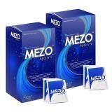 Mezo Novy เมโซ่ โนวี่ อาหารเสริมควบคุมน้ำหนัก ผอมเพรียว หุ่นสวย แบบไม่โทรม 30 แคปซูล 2 กล่อง ถูก