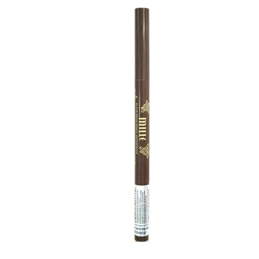 Mille 3D Eyebrow Pencil Waterproof : Dark Brown