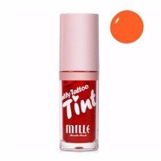 ขาย ซื้อ Mille Jelly Tattoo Tint ลิปทินท์กันน้ำ จูบไม่หลุด No 4 Orange Mandarin สีส้ม ใน กรุงเทพมหานคร