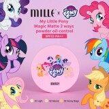 ขาย Mille My Little Pony Magic Matte 2Ways Powder Oil Control Spf22 Pa 01 Light สำหรับผิวขาว ถูก ใน กรุงเทพมหานคร