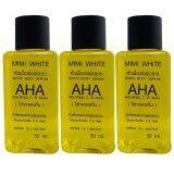 ขาย ซื้อ ออนไลน์ Mimi White Ahaหัวเชื้อเร่งผิวขาว30Ml 3ขวด