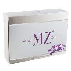 ขาย Min Zol ครีม มินโซว Min Mz Zol เพื่อผิวขาว กระจ่างใส ลดสิว ผ้า กระ จุดด่างดำ เซ็ทละ 2 กระปุก 1 กล่อง ใน ไทย
