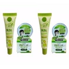 ราคา เซรั่ม น้ำตบชาเขียวมัทฉะ Mini Matcha Serum 10 Ml 2 กล่อง ครีมชาเขียวมัทฉะ Matcha Greentea Cream 10 G 2 กล่อง Macha กรุงเทพมหานคร
