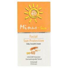 ราคา Minus Sun F*c**l Sun Protection Spf40 Ivory 25 G ราคาถูกที่สุด