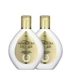 ซื้อ Mistine White Aura Whitening Lotion 200 มล โลชั่นผิวกระจ่างใส แพค 2 ชิ้น Thailand