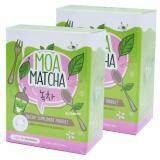 ราคา Moa Matcha โมเอะ มัทฉะ อาหารเสริมควบคุมน้ำหนัก ชาเขียวลดน้ำหนัก หอม อร่อย ดื่มง่าย พุงยุบ ขนาด 5 ซอง X 2 กล่อง ใหม่