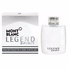 ซื้อ Mont Blanc Legend Spirit Edt 4 5 Ml Mont Blanc ออนไลน์