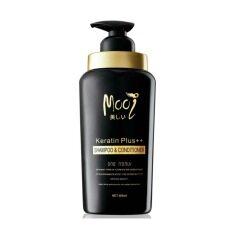 ราคา Mooi Keratin Plus Shampoo Conditioner โมอิ เคราติน พลัส แชมพู แอนด์ คอนดิชันเนอร์ ปริมาณสุทธิ 500 Ml 1 ขวด Mooi ออนไลน์