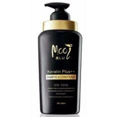 ซื้อ Mooi Keratin Plus Shampoo Conditioner โมอิ เคราติน พลัส แชมพู แอนด์ คอนดิชันเนอร์ ปริมาณสุทธิ 500 Ml 1 ขวด ออนไลน์ ถูก
