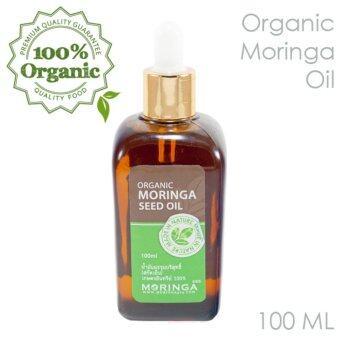 Moringa365 น้ำมันมะรุมบำรุงผิวหน้า/ผิวกาย สูตรออร์แกนนิค 100 ml. - SO-100 Org.