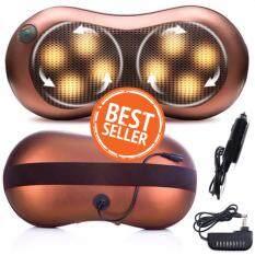 โปรโมชั่น Multi Purpose Massager หมอนนวดอเนกประสงค์ระบบแสงอินฟาเรด 8 ลูกนวด ถูก