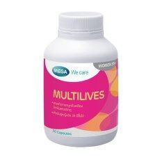ส่วนลด Multilives วิตามินรวมสำหรับหญิง 35 Mega We Care