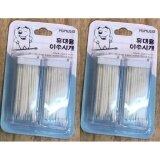 โปรโมชั่น Mumus ไม้จิ้มฟันพลาสติก ปลายเป็นขน สีขาว 100 ชิ้น กล่อง 2 กล่อง กรุงเทพมหานคร