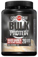 ทบทวน Musashi Bulk Mass Gain Chocolate 1 08 Kg Musashi
