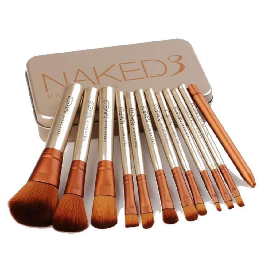 Naked3 แปรงแต่งหน้า 12ชิ้น   image