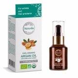 ซื้อ Naturae 100 Organic Argan Oil 30 Ml น้ำมันอาร์แกน ลดสิว ลดริ้วรอย ใหม่ล่าสุด