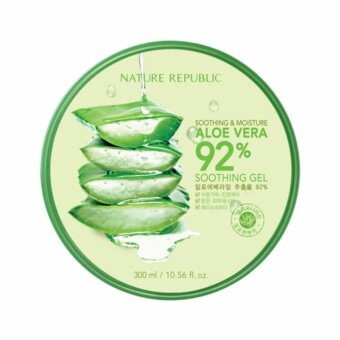 Nature Republic SoothingMoisture Aloe Vera 92% Soothing Gel 300ml1 กระปุก