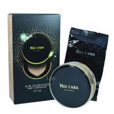 ขาย Nee Cara Air Cushion Bb Cream นีคาร่า แป้งคุชั่น เนื้อเนียนละเอียดผสมบีบี ตลับ แถมรีฟิวในกล่อง รุ่น N966 สี 22 สำหรับผิวสองสี 1 กล่อง Nee Cara