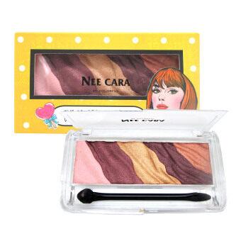 NEE CARA อายแชโดว์พาเลท นีคาร่า Dye Colored Eyeshadow With 5 Color (เบอร์4)