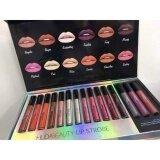 โปรโมชั่น New Huda Beauty Liquid Matte Lipstick Shimmer Set 15 Color 15 แท่ง ใน กรุงเทพมหานคร