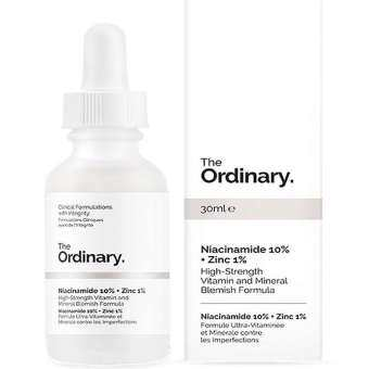 Niacinamide 10% + Zinc 1% High-Strength Vitamin and Mineral Blemish Formula