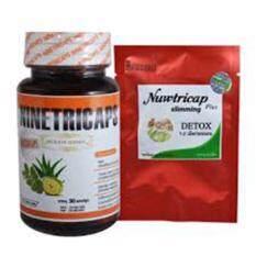 ซื้อ Ninetricaps ไนท์ตริแคป อาหารเสริมสมุนไพรลดน้ำหนัก 30 เม็ด Nuwtricap Plus Slimming Detox สมุนไพรลดน้ำหนัก 20 เม็ด 1ชุด Nuwtricap Slimming ออนไลน์