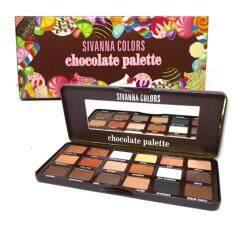 ขาย No 1 ชุดพาเลทอายแชโดว์ Sivanna Palette Eyeshadow Hf7006 ถูก Thailand