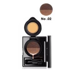ซื้อ Novo Cushion Eyebrow โนโว เขียนคิ้วคุชชั่น มาพร้อมแปรงและพู่กันในกล่อง รุ่น 5167 สี 02 น้ำตาลอ่อน 1 ชุด ถูก