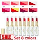 ขาย Novo Double Color Lipstick ครบเซ็ต 8 สี โนโว ลิปสติก 2 สีในแท่งเดียว ลิปสติกทูโทน โทนสีสวยแซ่บ เนื้อเป็นลิปบาล์ม มีมอยเจอไรเซอร์ บำรุงริมฝีปาก ทาง่าย เฉดสีชัด ติดทนนาน 2 Tone กรุงเทพมหานคร