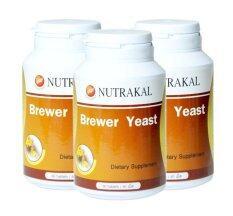 โปรโมชั่น Nutrakal Brewer Yeast 60 เม็ด 3 กล่อง ถูก