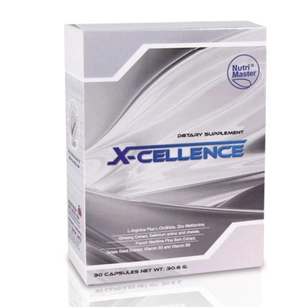 Nutri Master X-Cellence 30Capsules 1กล่อง