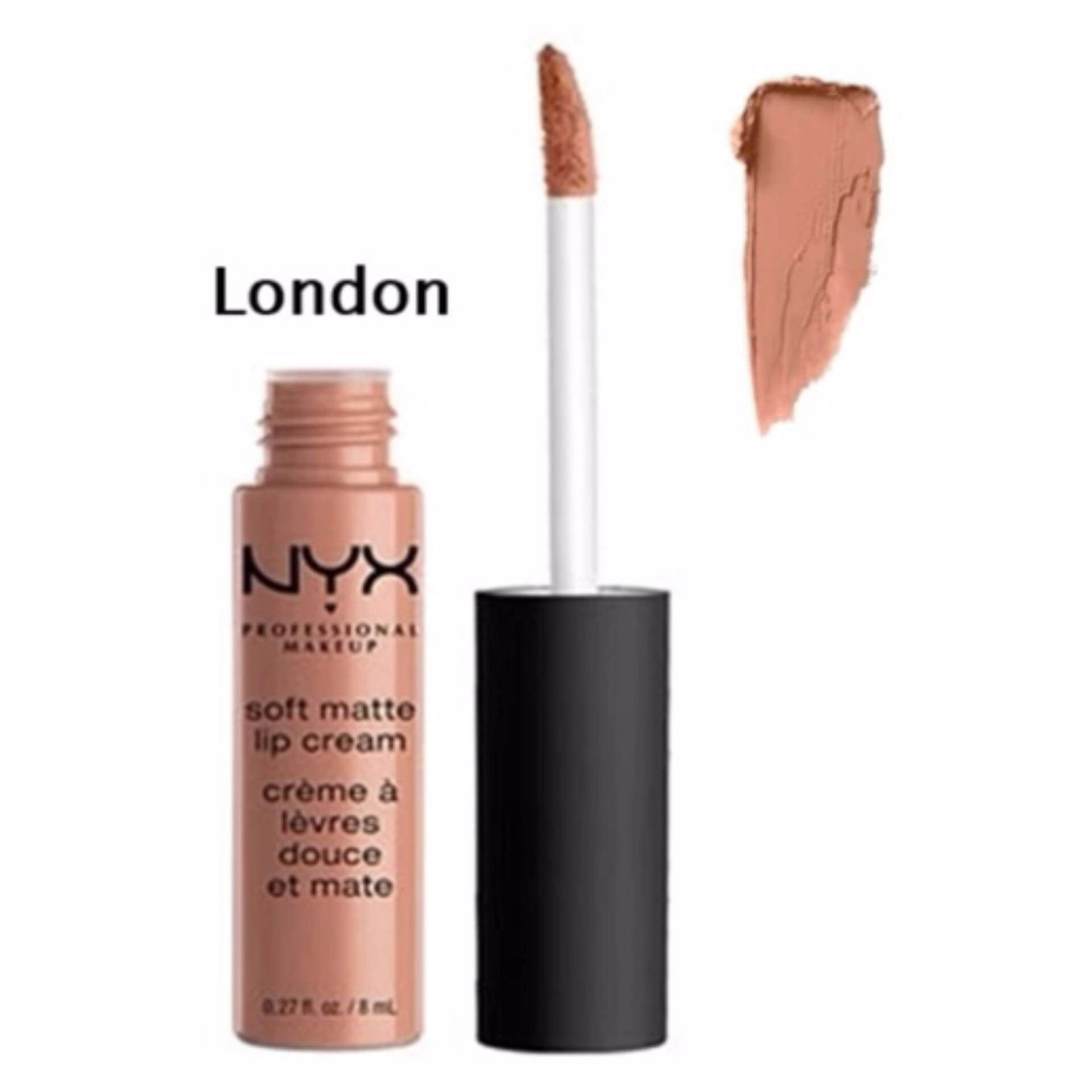 NYX Professional Makeup Soft Matte lip cream SMLC04 - London ขนาด 8 ml.