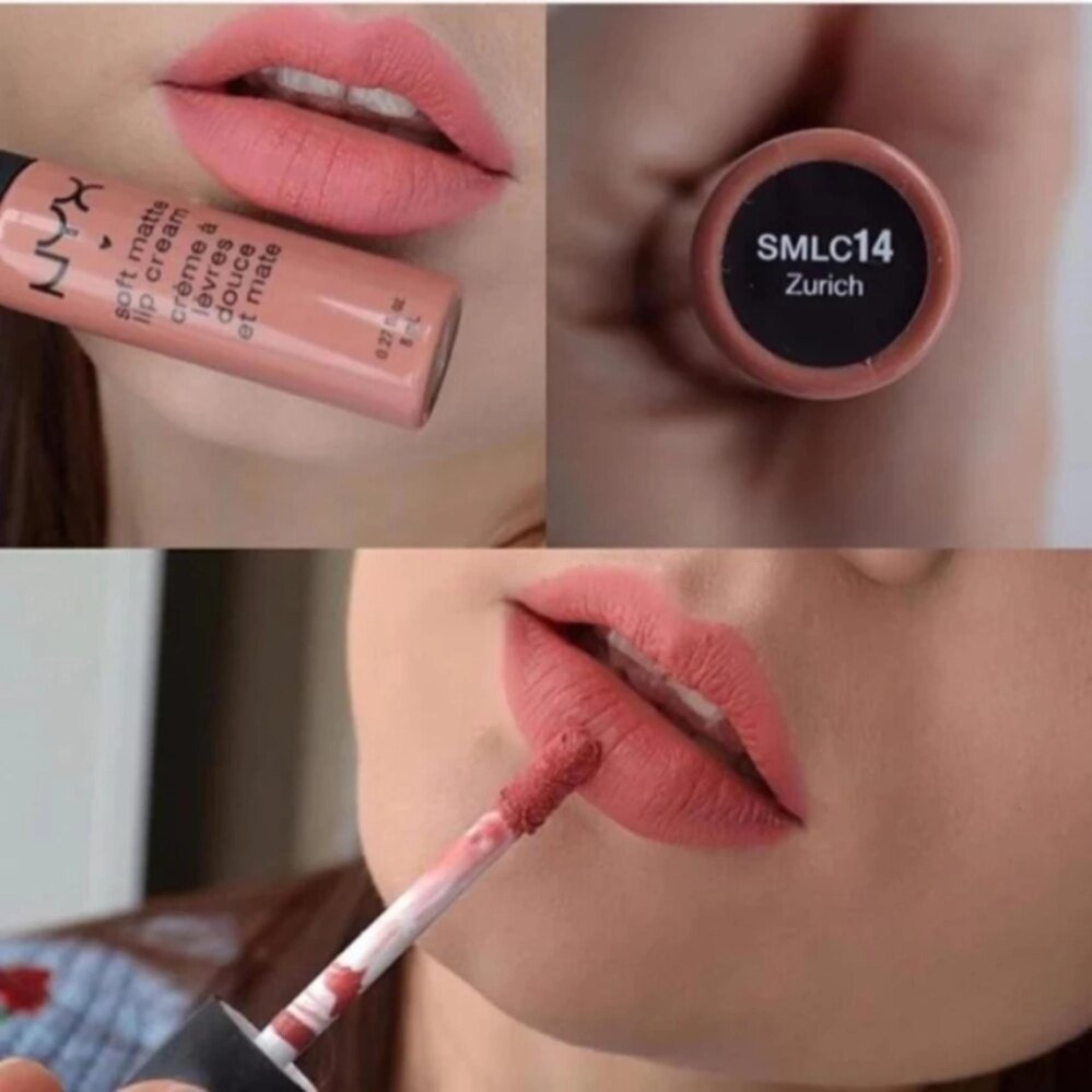 NYX Soft matte lip cream (สีSMLC14 Zurich)
