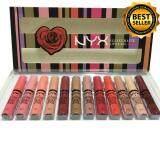 ขาย ลิปเซต Nyx Velvet Matte Lip Glaze 12 แท่ง 12 สี รุ่นขายดี ออนไลน์ ใน กรุงเทพมหานคร