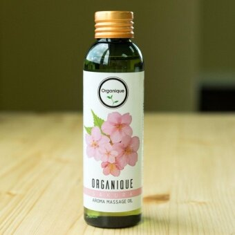 O-goodz Organique ออแกนีค น้ำมันนวด ผ่อนคลาย Relaxing Scented Body Massage Oil Thai Spa Aromatherapy Skin Moisturising 100ml - Sakura กลิ่นซากุระ