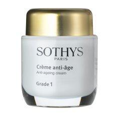ซื้อ โซทีส ครีมบำรุงผิวสำหรับต่อต้านริ้วรอย อายุผิว30 39 ปี เกรด 1 Sothys Anti Ageing Cream Grade 1 ขนาด 50 มิลลิลิตร Sothys ออนไลน์