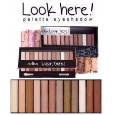 ราคา Odbo Look Here Palette Eyeshadow ราคาถูกที่สุด