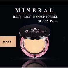 ขาย Odbo Mineral Jelly Pact โอดีบีโอ แป้งดินน้ำมัน มิเนอรัล เจลลี่ แพค เมคอัพ พาวเดอร์ เอสพีเอฟ 36 พีเอ รุ่น Od619 สี 23 สำหรับผิวกลาง 1 ชิ้น ผู้ค้าส่ง