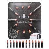 ขาย Odbo โอดีบีโอ ลิปเขียนขอบปาก ดินสอเขียนขอบปาก ลิปดินสอ Odbo Wonder Lip Pencil 12 แท่ง Odbo เป็นต้นฉบับ