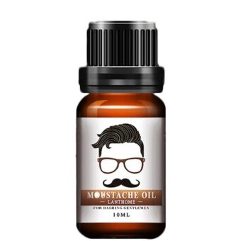 Oil Moustache / beard 10ml : growth up soft natural DELIVERY FROM THAILAND