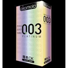 ราคา Okamoto 003 ถุงยางอนามัย 10ชิ้น กล่อง จำนวน 1กล่อง Okamoto เป็นต้นฉบับ