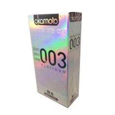 ซื้อ Okamoto ถุงยางอนามัย รุ่น 03 Platinum 10 ชิ้น กล่อง ถูก Thailand