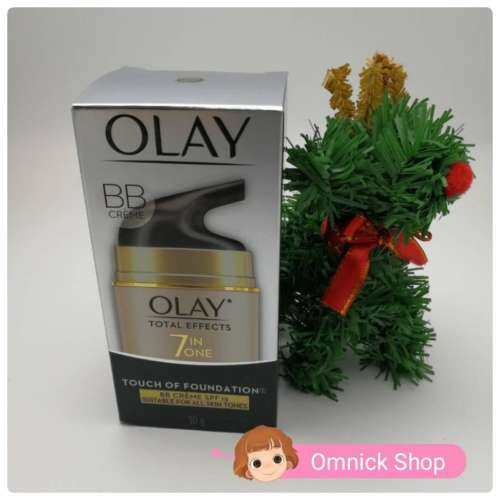 Olay Total Effects 7 in One Day Cream Touch Of Foundation SPF15 50g