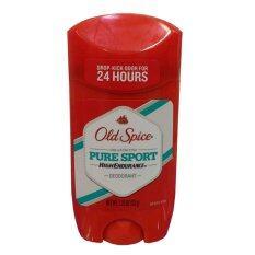 ทบทวน Old Spice High Endurance Pure Sport Deodorant รับรู้ได้ถึงกลิ่นหอมที่โชยออกมาทั้งวันทั้งคืน กลิ่นหอมอย่างเป็นเอกลักษณ์ ทำให้คุณดูเป็นคนพิเศษ หมดปัญหาเรื่องกลิ่นไม่พึงประสงค์ตลอด 24 ชั่วโมง 1 ชิ้น