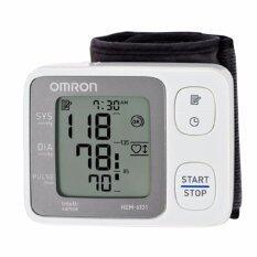 ราคา Omron เครื่องวัดความดันโลหิตข้อมือ Hem 6131 Omron เป็นต้นฉบับ